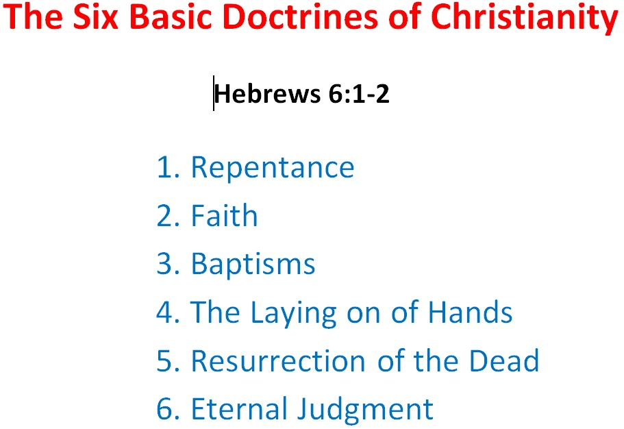 The Six Basic Doctrines of Christianity | Fountain of Life